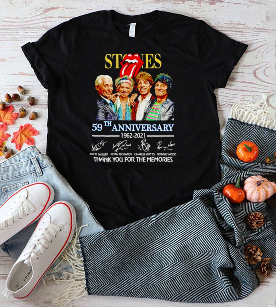 The Rolling Stones 59th Anniversary 1962 2021 shirt