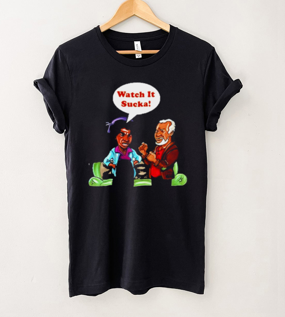 watch it sucka son in sanford city funny and meme shirt