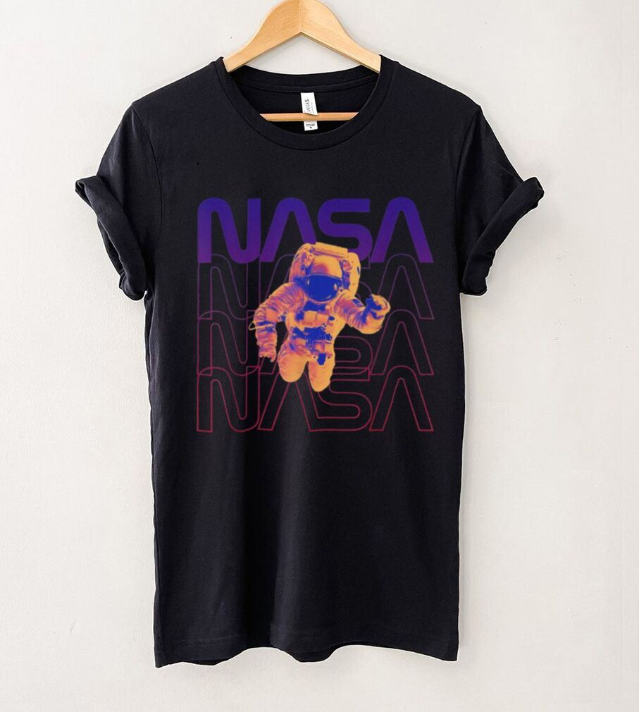 Floating in space NASA occupy Mars Astronaut in space Shirt